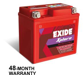 EXIDE XPLORE-6.0